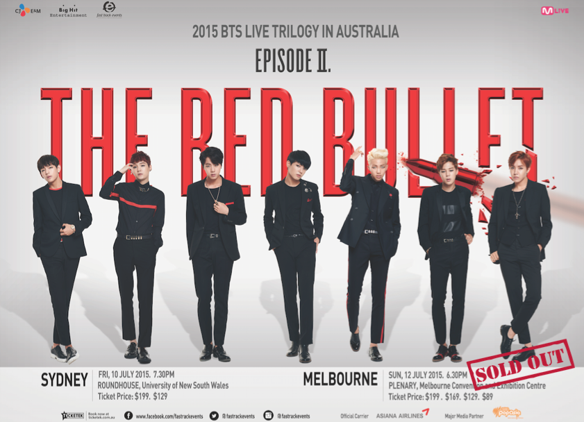 Tickets To Bts S Melbourne Concert Are Sold Out Sydney Tix